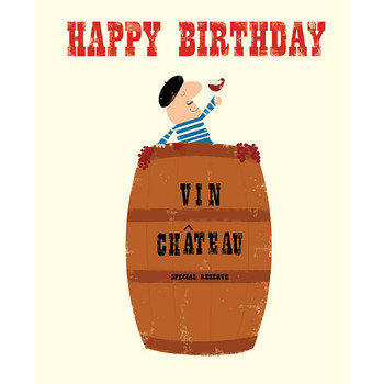 Card - Happy Birthday vin