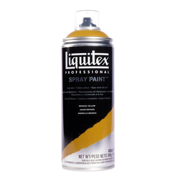 Liquitex spray bronze yellow