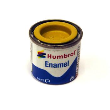 Humbrol Enamel Trainer Yellow 14ml