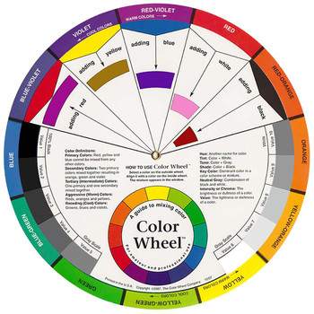 Artists Large Colour Wheel