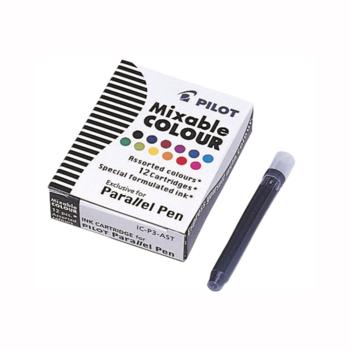 Pilot Parallel Pen Refills 12 assorted colours