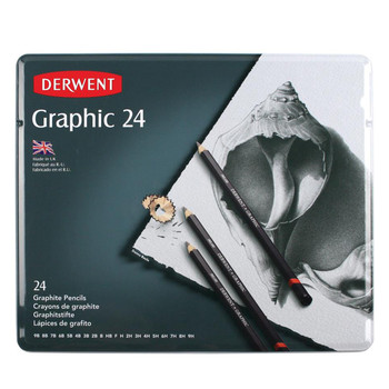 Derwent Graphic 24 Tin