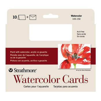 Strathmore Watercolour cards and envelopes 10 Pack CP