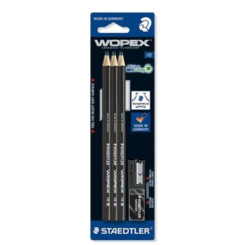 Staedtler Wopex HB set x 6 pencils