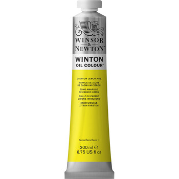 Winton Oil Colour 200ml Lemon Yellow Hue