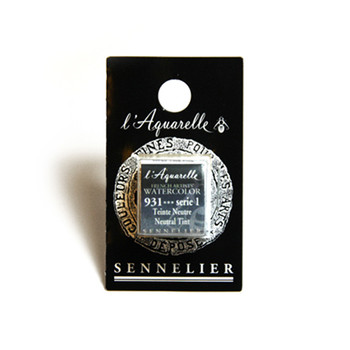 Sennelier Watercolour 1/2 Pan S1 - Neutral Tint