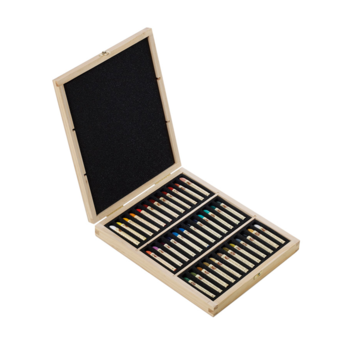 Sennelier Set x 36 Pastels Assorted Wooden Box