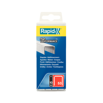 Rapid No.53 10mm Zinc Staples X 1080