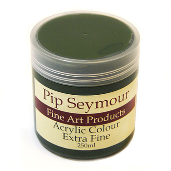Pip Seymour Acrylic Sap Green 250ml (S2)