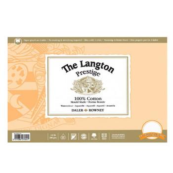 Langton Prestige Block Smooth 300gsm (140lb) 12 x 9