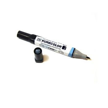 Kuretake KC3000 Graphic Marker Blue Gray 4