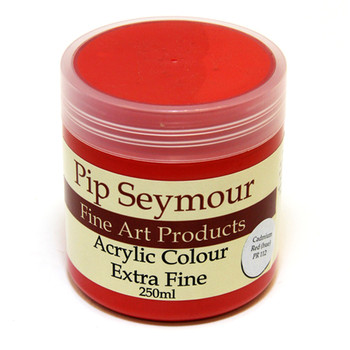 Pip Seymour Acrylic Cadmium Red Hue 250ml (S1)