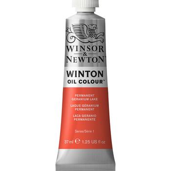 Winton Oil Colour 37ml Permanent Geranium Lake