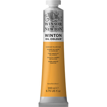 Winton Oil Colour 200ml Cadmium Yellow Hue