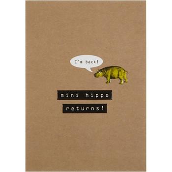 Card - Mini Hippo Returns