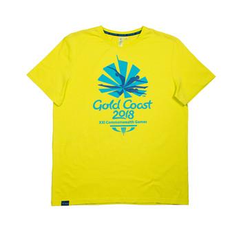 2 Colour Men's Emblem T-Shirt Image