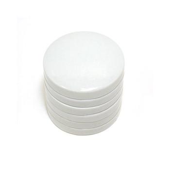 Circular Ceramic stacking palettes 5 x 7cms