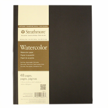 Strathmore softcover watercolour journal 7.75 x 9.75