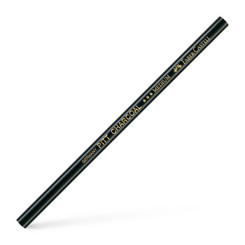 F-C Pitt Black Charcoal Pencil Medium