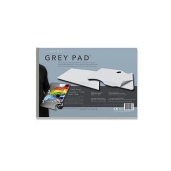 New Wave Grey Disposable Palette Pad 28cm x 40cm