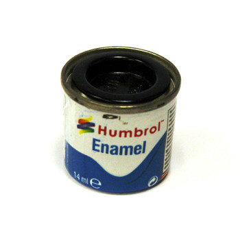 Humbrol Enamel Coal Black 14ml