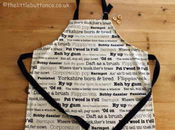 Yorkshire Dialect Apron
