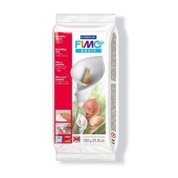 Fimo Air Drying Modelling Clay - White 1kg