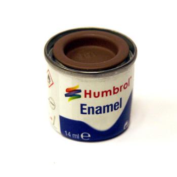 Humbrol Enamel Brown 14ml