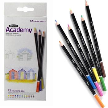 Derwent Academy Colouring Carton x 12