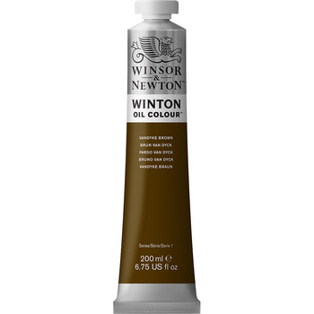 Winton Oil Colour 200ml Vandyke Brown