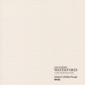 Saunders Waterford 56x76cm 425gsm Rough (Pack of 10)