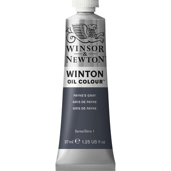 Winton Oil Colour 37ml Paynes Grey