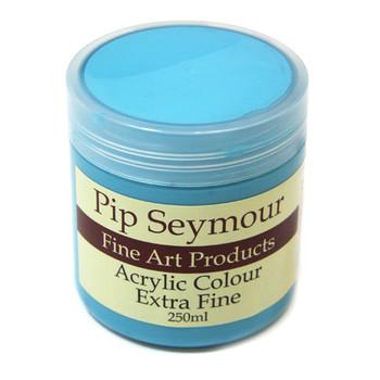 Pip Seymour Acrylic Cobalt Turquoise (HUE) 250ml (S3)