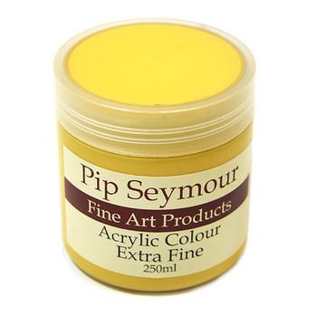 Pip Seymour Acrylic Naples Yellow Deep (HUE) 250ml (S2)