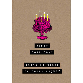 Card - Happy cake day