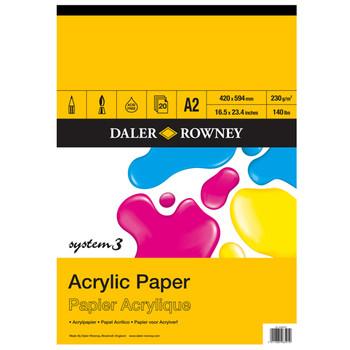 System 3 Acrylic Pad A2