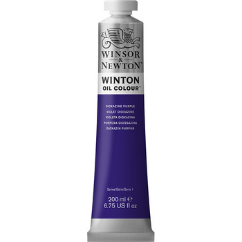 Winton Oil Colour 200ml Dioxazine Purple
