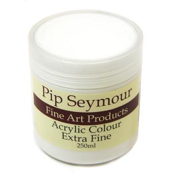 Pip Seymour Acrylic Tinting White 250ml (S1)