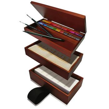 Sennelier Watercolour Picnic Set - 24 Half Pans