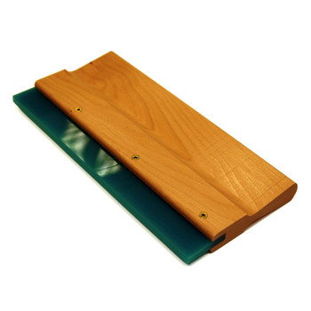 Wooden Squeegee with blade 12 ins
