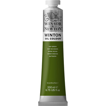 Winton Oil Colour 200ml Sap Green