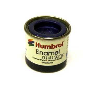 Humbrol Enamel Metallic Moonlight Blue 14ml