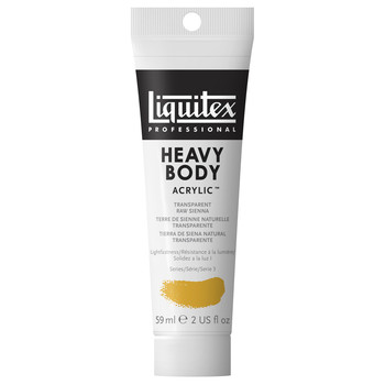 Liquitex Heavy Body Acrylic 59ml Transparent Raw Sienna