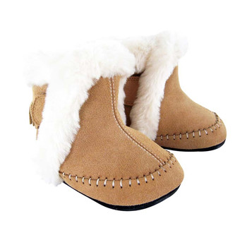 Mocs Boot Tan Suede-Cary