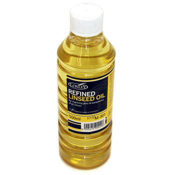 Artists' Refined Linseed Oil 500ml