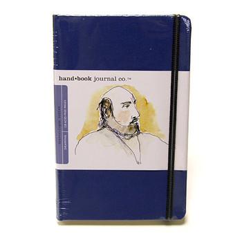 Hand Book Journal Sketchbook 5.5 x 8.25 Large Portrait Blue