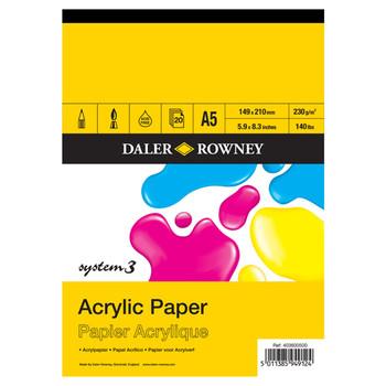 System 3 Acrylic Pad A5