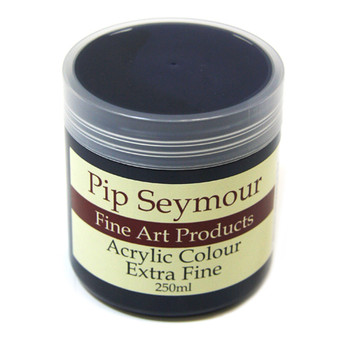 Pip Seymour Acrylic Prussian Blue (HUE) 250ml (S2)