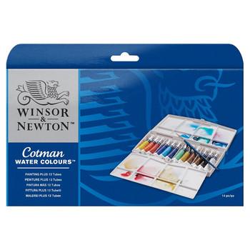 New Cotman Watercolour Tube Painting Plus 04