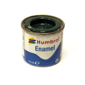 Humbrol Enamel Gloss Brunswick Green 14ml